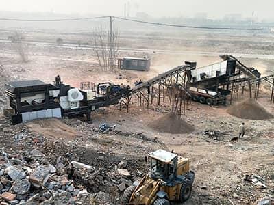 山东移动式建筑垃圾处理案例