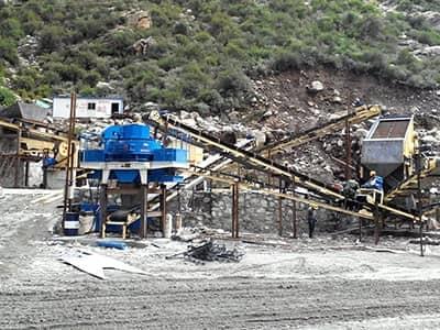 烟台花岗岩制砂生产线