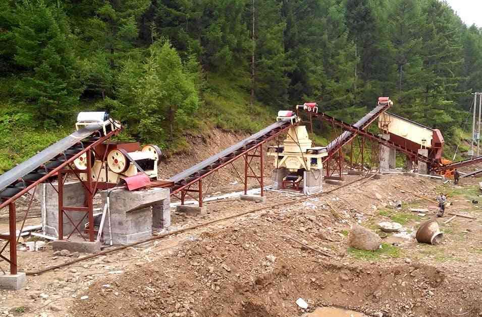 东北鹅卵石制砂生产线