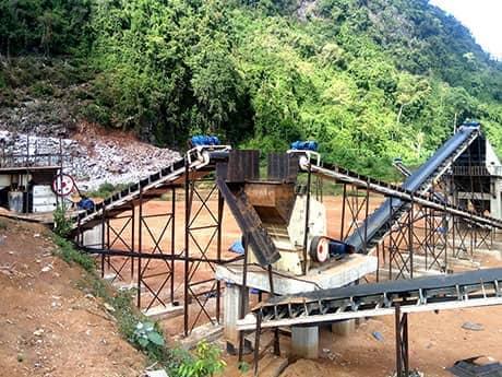 河南铁矿石破碎生产线