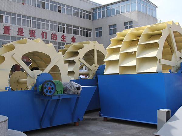 砂石厂为什么选用洗砂机?常用的洗砂机有几种?