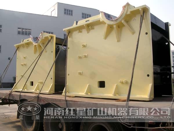 明矾石破碎机厂家发货