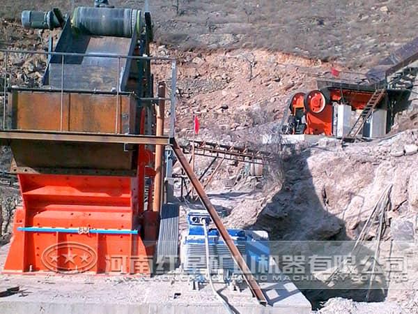 石灰岩破碎生产线