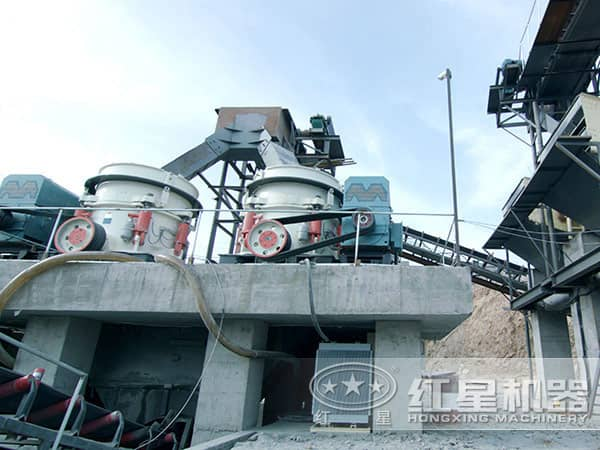 河卵石碎石机生产线