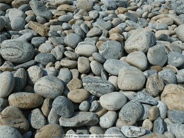 鹅卵石物料图