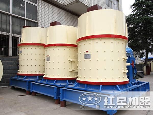排放整齐的复合制砂机