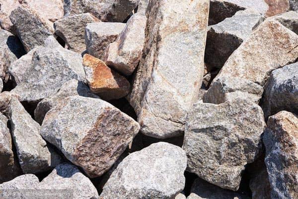 花岗岩物料图