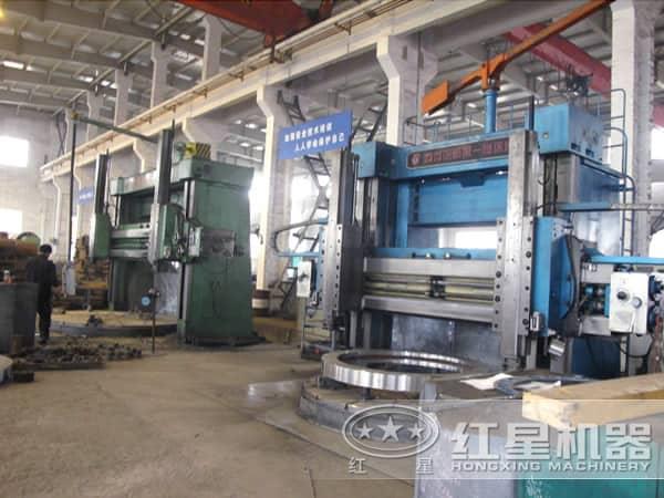河南红星机器生产车间