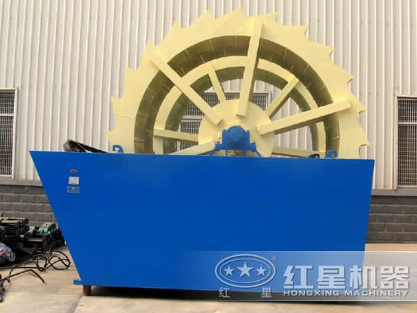 时产50-200吨的沙子洗砂机高清图