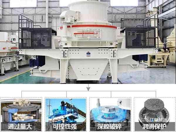 时产200吨石子制砂机的优势图