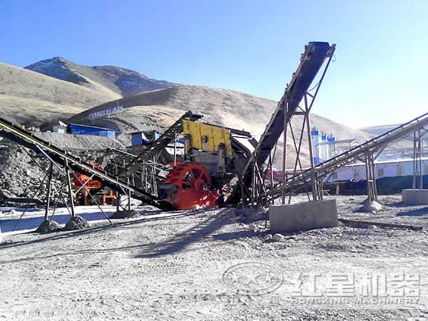 小规模制砂厂