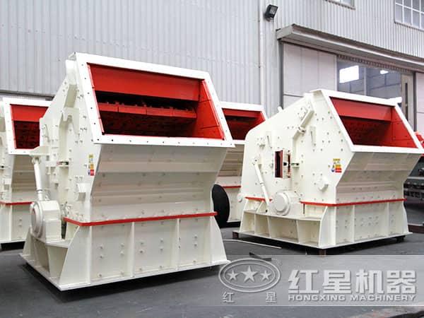 时产100吨反击式榔头机