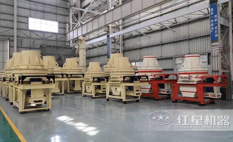 HX干式石粉制砂机