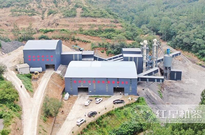 河南客户环保机制砂生产线图片