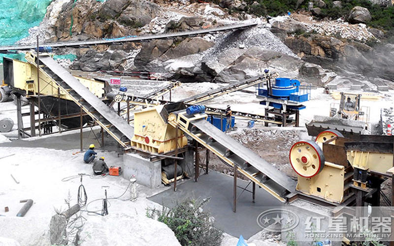 固定式砂石骨料生产线