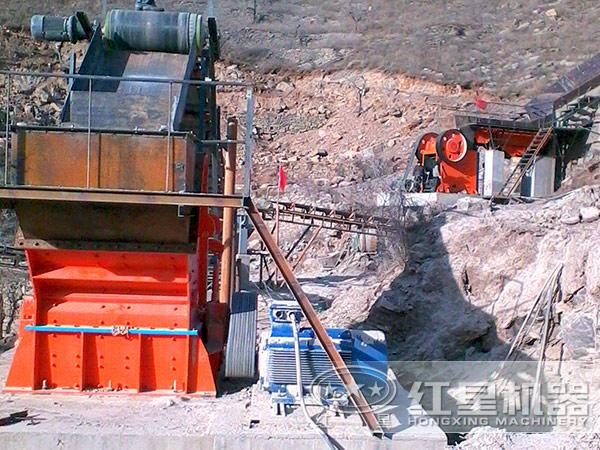 长石砂岩生产线