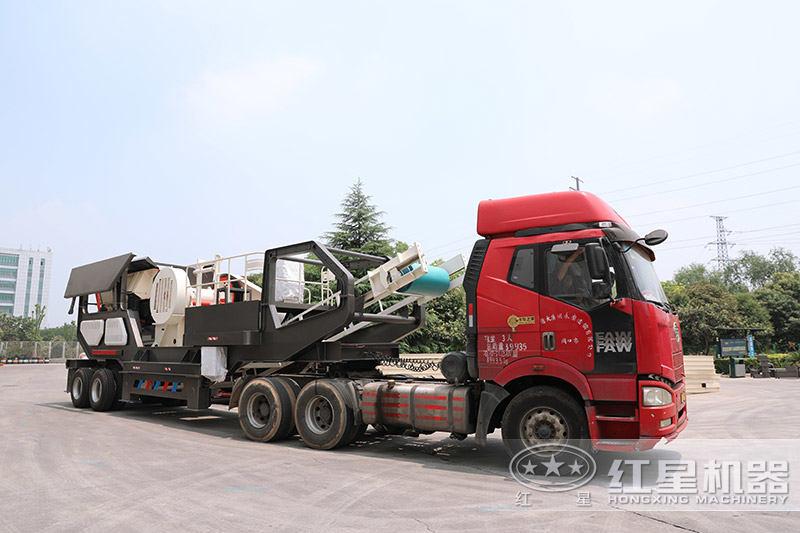 红星机器建筑垃圾处理设备发货