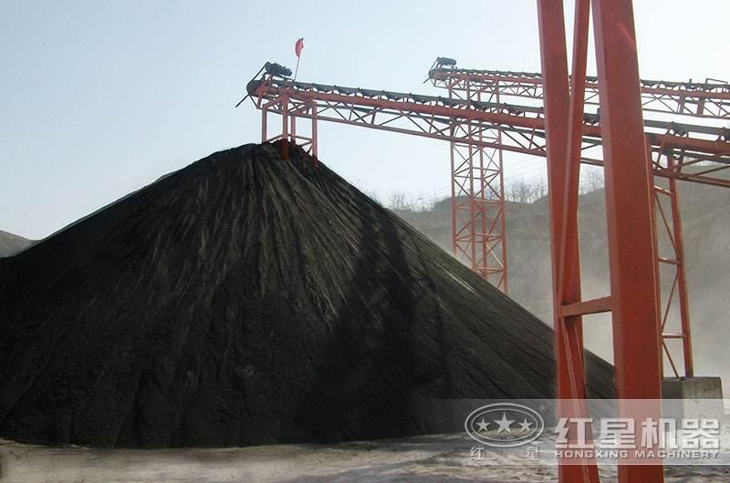 煤矸石沙子实拍图
