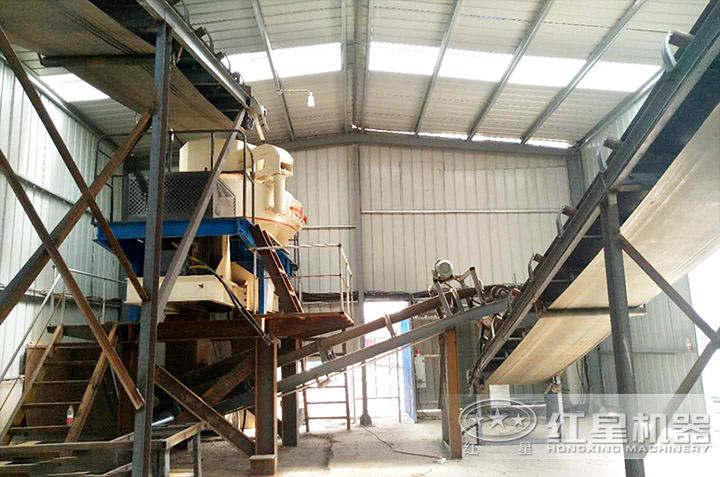 金湖室内制砂生产线
