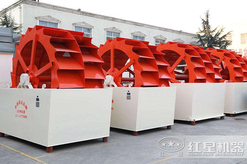 时产200吨洗沙设备图片