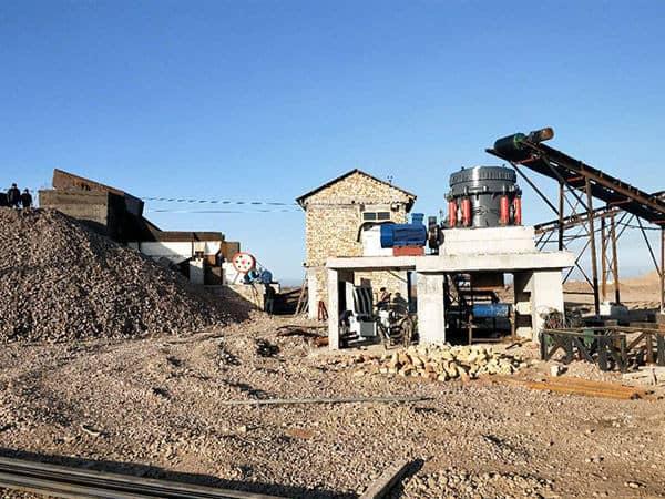 300吨花岗岩破碎需要多大的设备?工艺流程如何配置