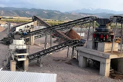 整条制砂生产线生产效果优势